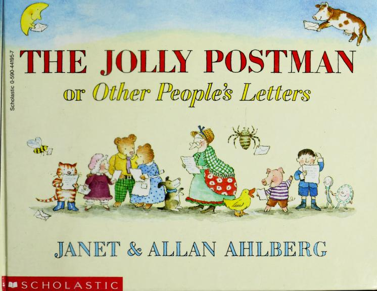 Jolly Postman by Ahlberg