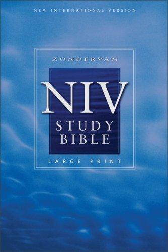 Download Zondervan NIV Study Bible, Large Print