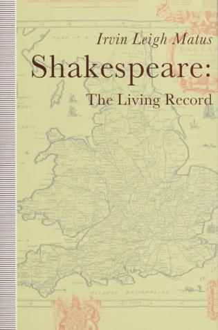 Download Shakespeare, the living record