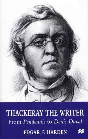 Thackeray the Writer