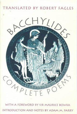 Complete poems by Bacchylides.