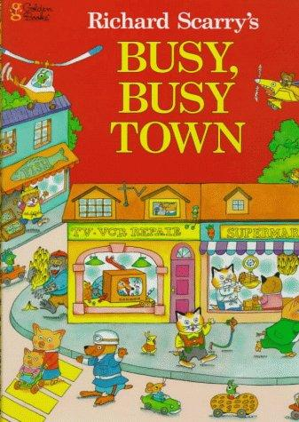 Richard Scarry's busy, busy town.