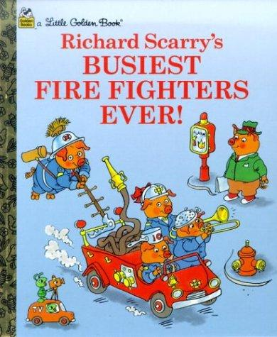 Download Richard Scarry's busiest fire fighters ever!