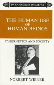 The Human Use Of Human Beings: Cybernetics And Society PDF Download