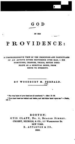 Download God in his Providence