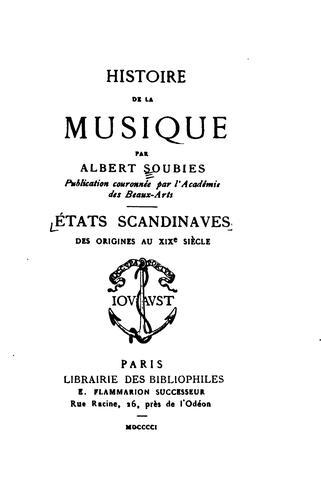 Download Histoire de la musique