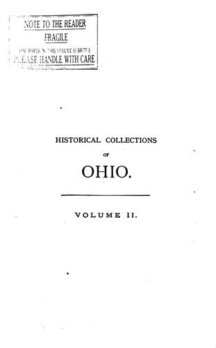 Historical collections of Ohio …