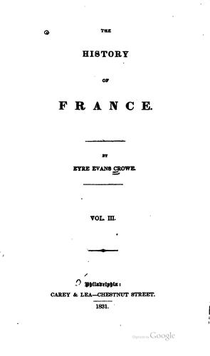 Download The history of France.