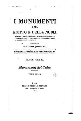 Download I monumenti dell'Egitto e della Nubia