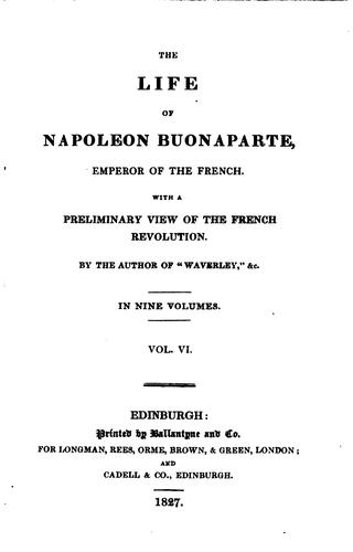 Download The life of Napoleon Buonaparte, emperor of the French.
