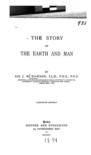 Download The story of the earth and man