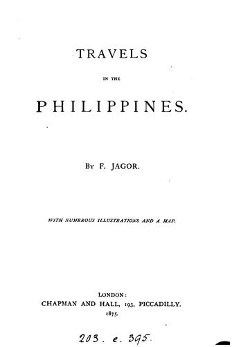 Download Travels in the Philippines.