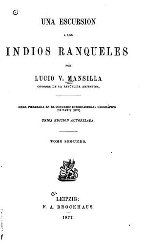 Download Una escursion a los indios ranqueles