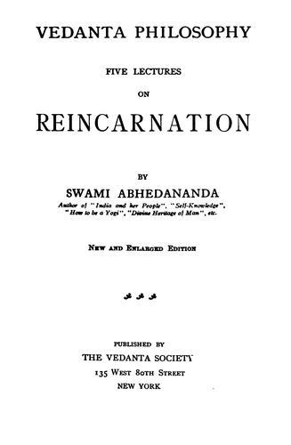 Download Vedanta philosophy