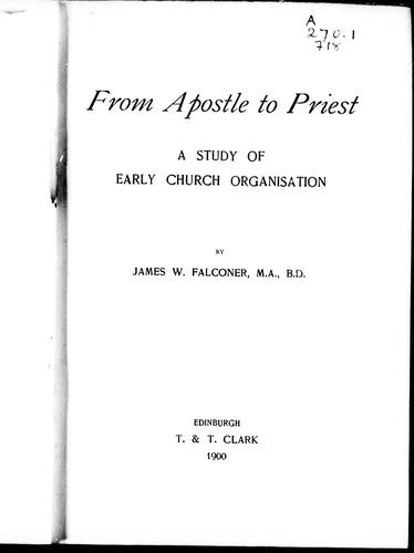 Download From apostle to priest