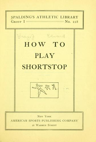 Download How to play shortstop.