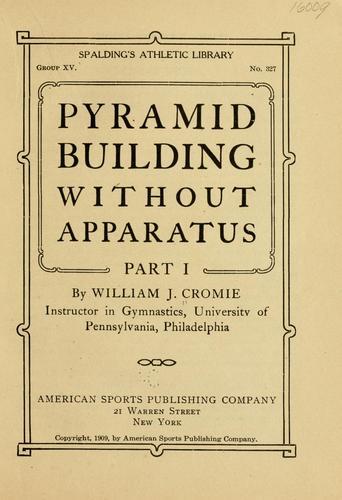Pyramid building …