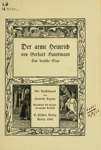 Download Der arme Heinrich