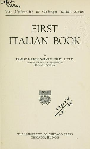 Download First Italian book.