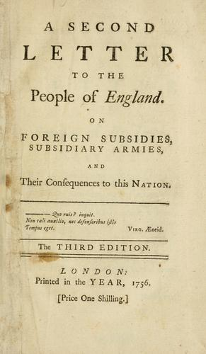 Download A second letter to the people of England.