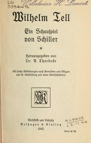 Download Wilhelm Tell