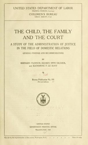 Download The child, the family, and the court