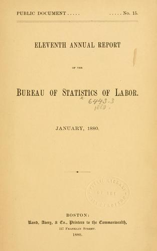 Download Report on the statistics of labor. (title varies).