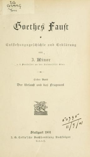 Download Goethes Faust