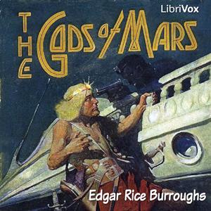 Gods of Mars(382) by Edgar Rice Burroughs audiobook cover art image on Bookamo