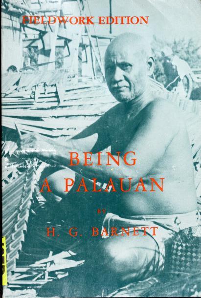 Being a Palauan by H. G. Barnett