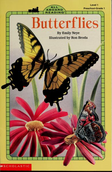 Butterflies (All Aboard Reading: Level 1) by Emily Neye