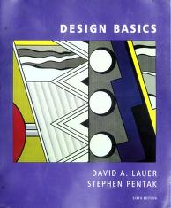 Cover of: Design basics   David A Lauer