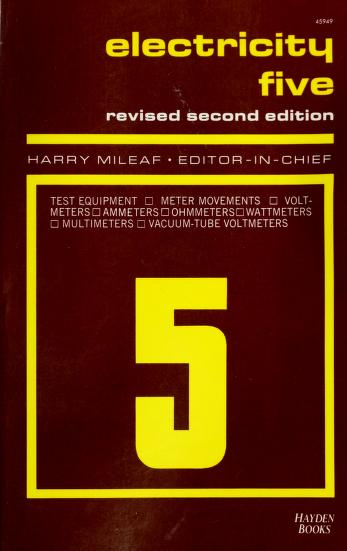Cover of: Electricity Five (Hayden Electricity One-Seven) | Mileaf