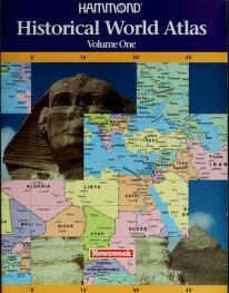 Cover of: Hammond historical world atlas | Hammond Incorporated