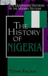Cover of: A history of Nigeria by