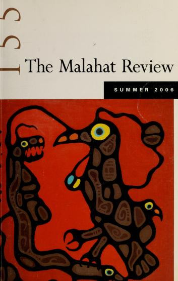 Cover of: The Malahat review | University of Victoria (B.C.)