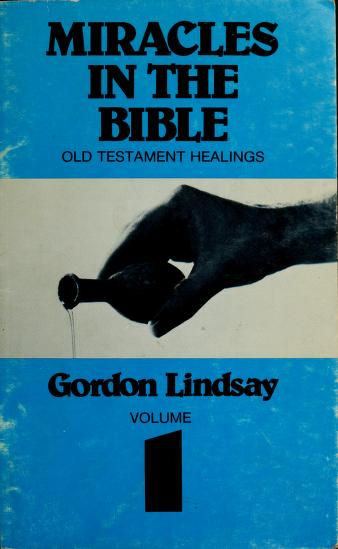 Cover of: Miracles in the Bible series | Gordon Lindsay