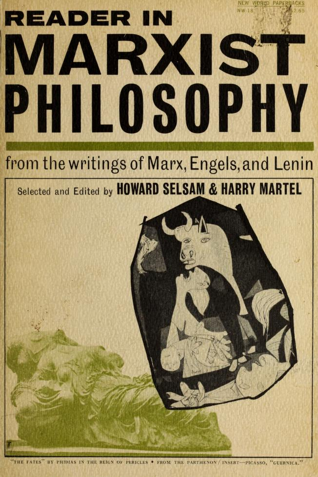 Reader in Marxist philosophy by Howard Selsam