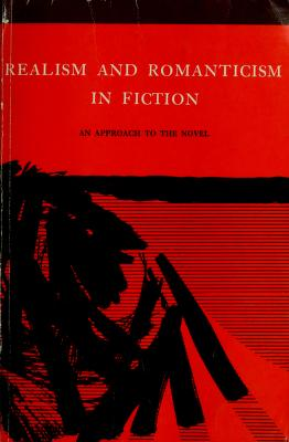 Cover of: Realism and romanticism in fiction | Eugene Current-García
