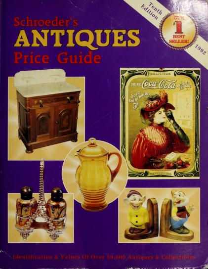 Schroeder's Antiques Price Guide 1992 by Collector Books