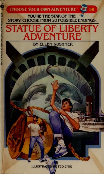 Statue of Liberty adventure by Ellen Kushner