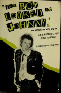 "Cover of: ""The boy looked at Johnny"" 