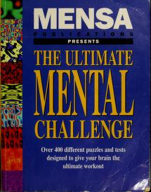 Cover of: Ultimate Mental Challenge | Mensa