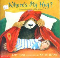 Cover of: Where's my hug | Amy Hest