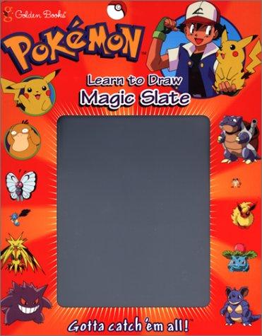 Pokemon Learn to Draw (Magic Slate) by Golden Books