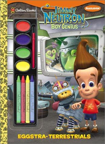 Eggstra-Terristrials (Paint Box Book) by Golden Books