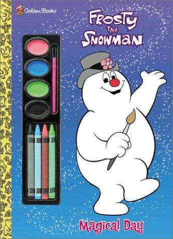 Frosty the Snowman (Painting Time) by Golden Books