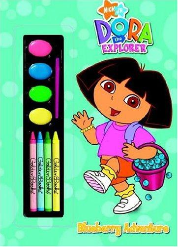 Blueberry Adventure (Paint Box Book) by Golden Books