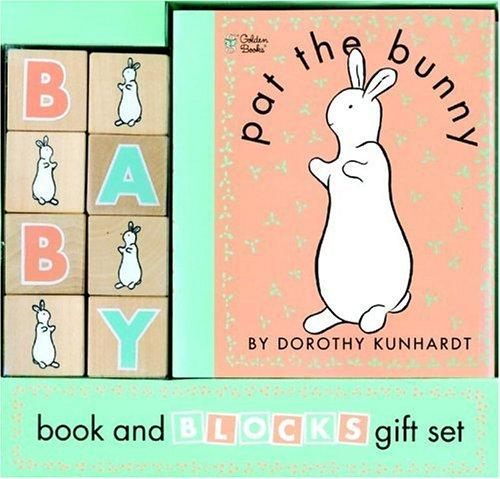Pat the Bunny Book and Blocks (Pat the Bunny) by Golden Books