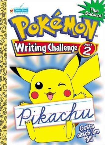 Pokemon Cursive Challenge Grade 2 with EZ Peel Stickers by Golden Books